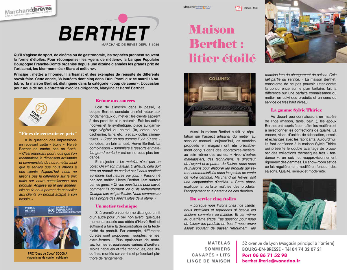 Literie Berthe